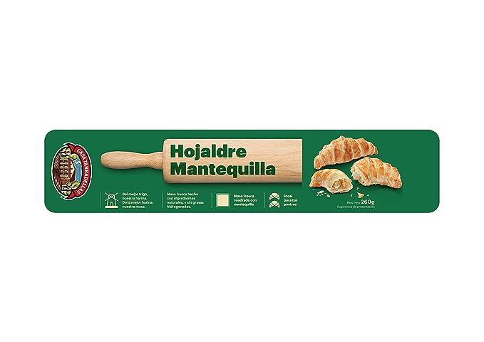 Casa Tarradellas Masa Fresca Hojaldre con Mantequilla - 260 gr