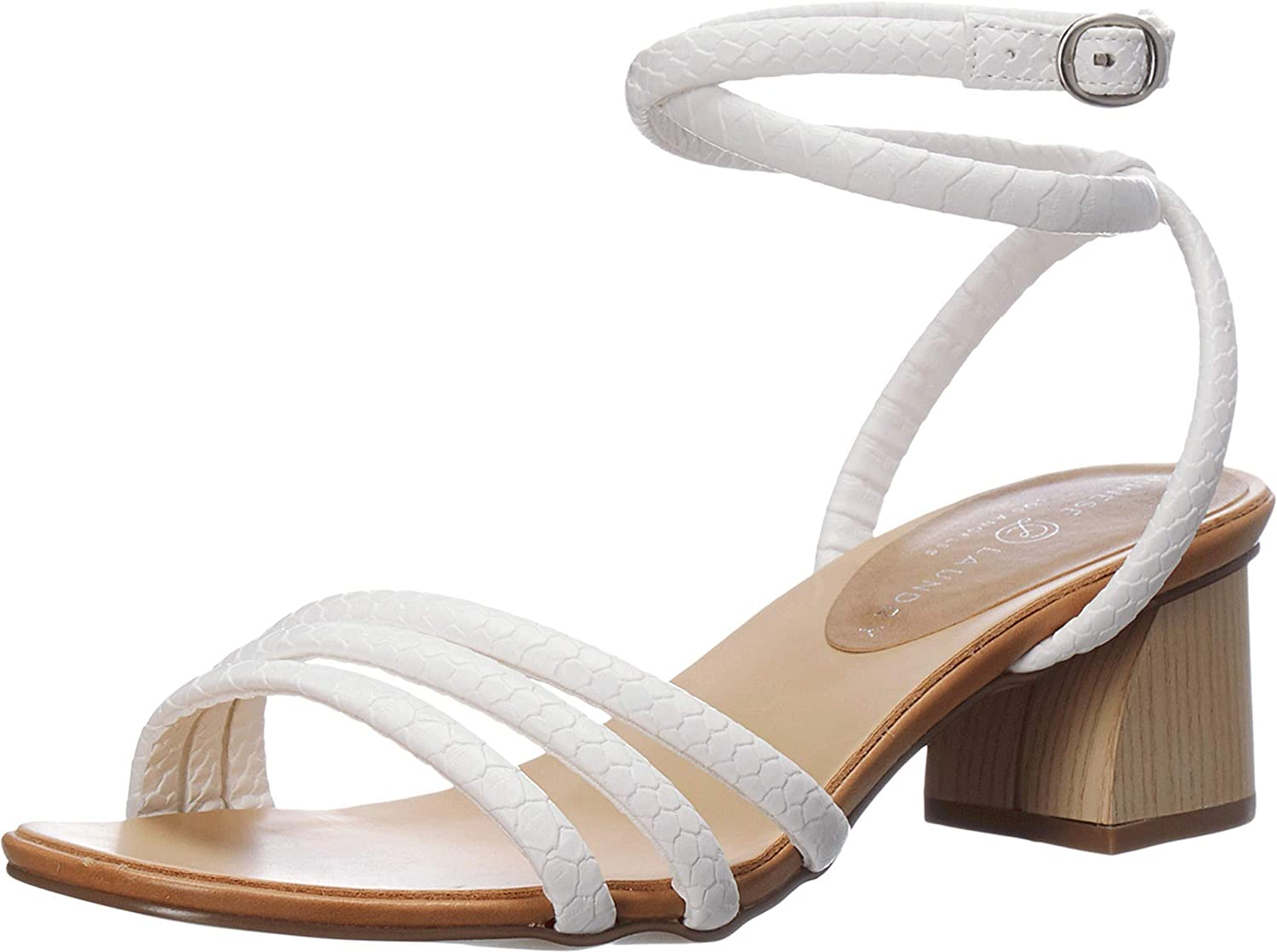 Chinese Laundry Women's Strappy Sandal, Ankle Strap Heeled