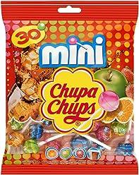 Chupa Chups Sachet de 30 Sucettes Mini Classic 180 g - Lot de 6