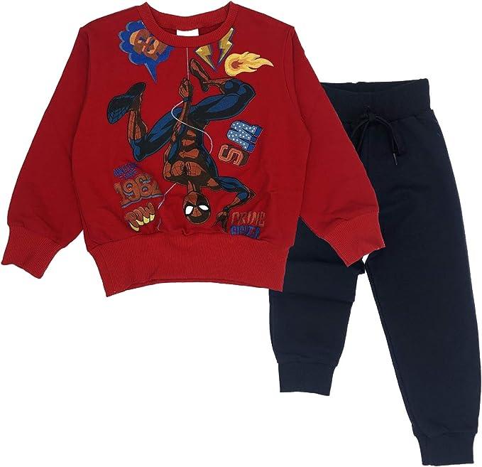 Spiderman Marvel Chándal - para niño Gris 104 cm: Amazon.es: Ropa ...