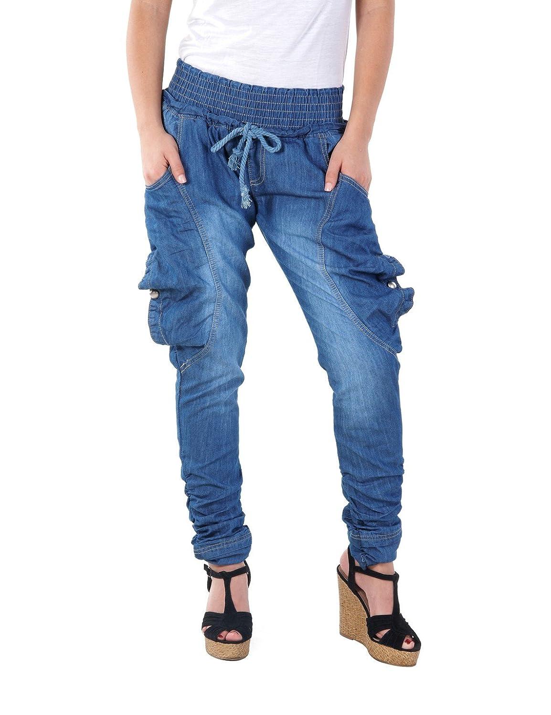 Balingi Damen Pump Jeans BA10228