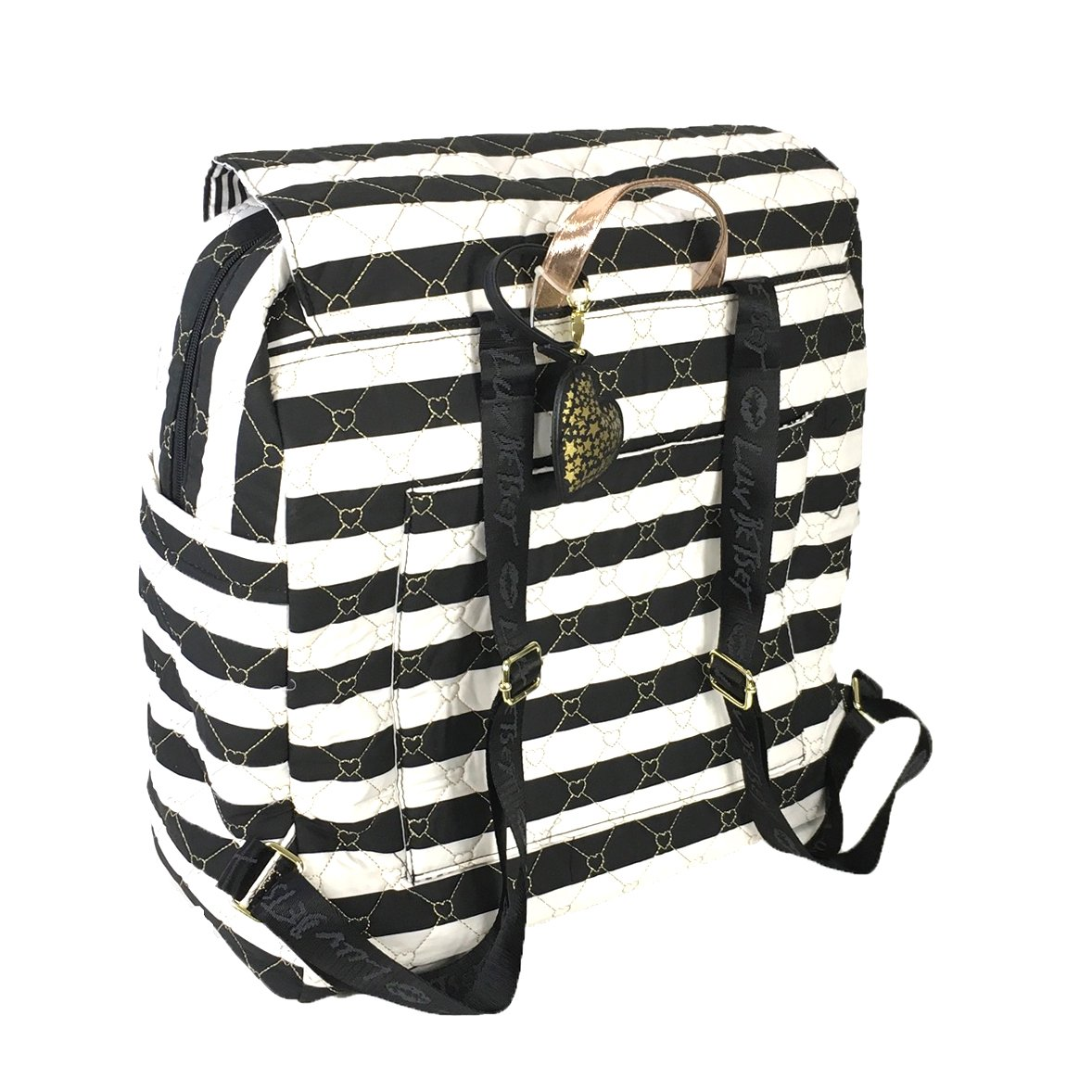 Luv Betsey Women's Willow Oversize Travel Cotton Backpack with Luggage Pass Through Stripe One Size by Luv Betsey (Image #2)