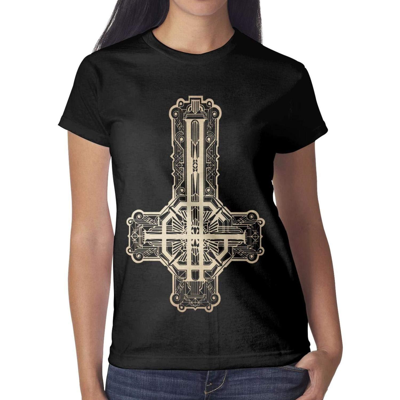 Svodar Ghost-Singer-Cirice Womens t-Shirt Short-Sleeve Cotton