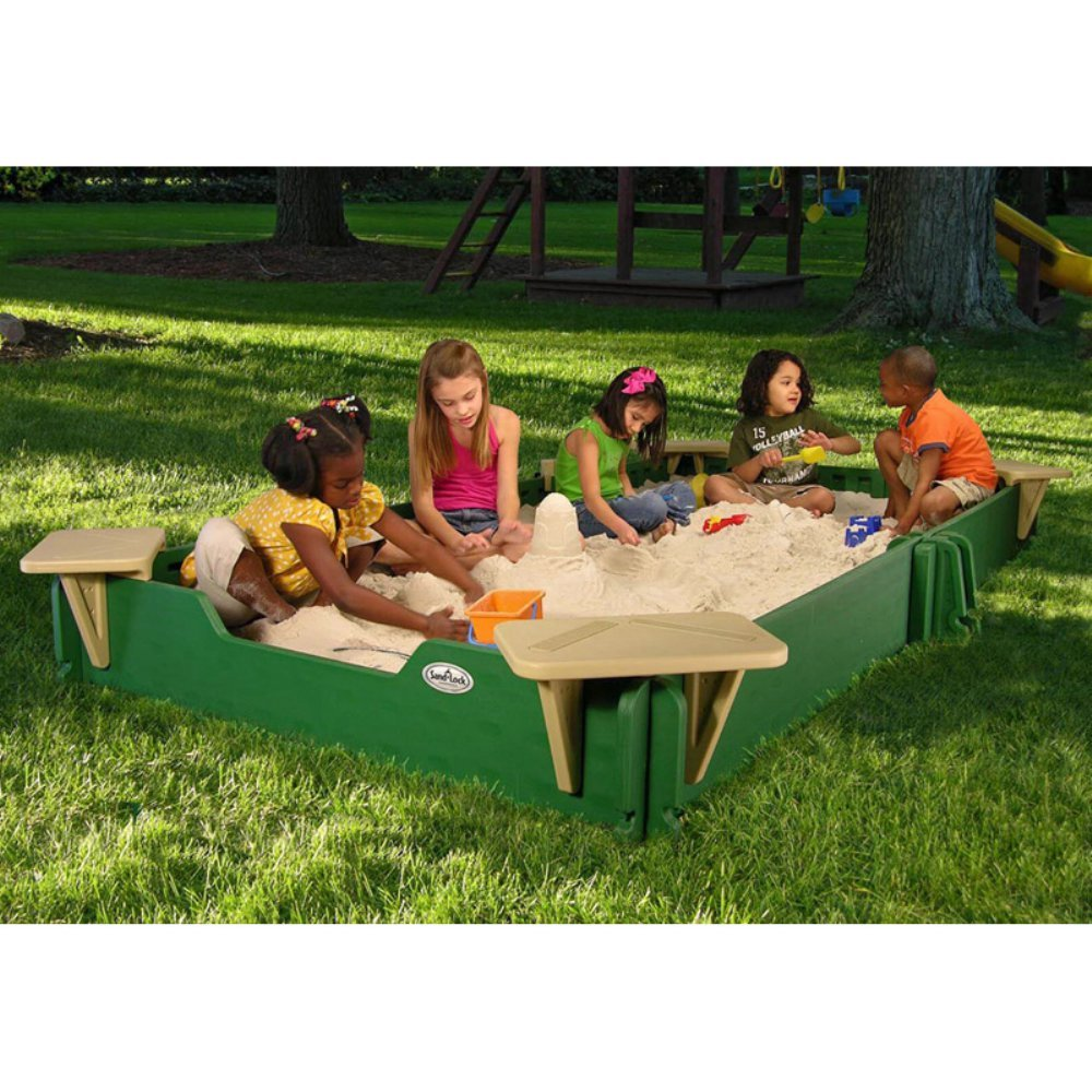 10' Rectangular Sandbox with Cover 719eeyGNwQL._SL1000_