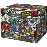 Panini NHL All Teams 2017/18 Sticker Refill Box (50 Count), Small, Black
