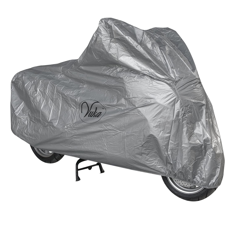 Telo Copri Moto Scooter Naked Customo Impermeabile PVC Universale Argento S A-PRO 5180000084219