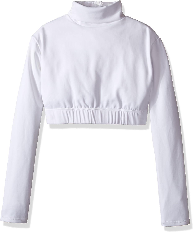 Capezio Girls' Turtleneck Long Sleeve Top