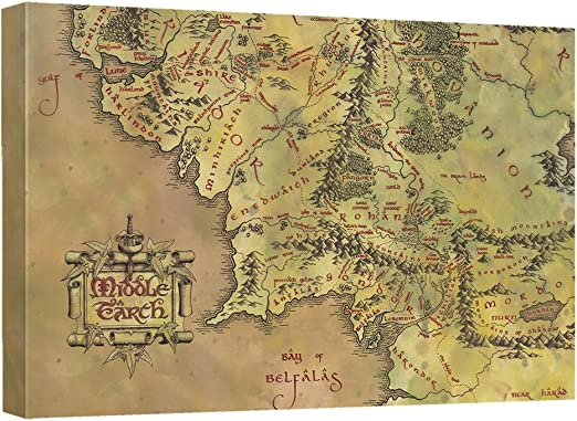 """Lord of the Rings  canvas 20/""""x30/"""""""