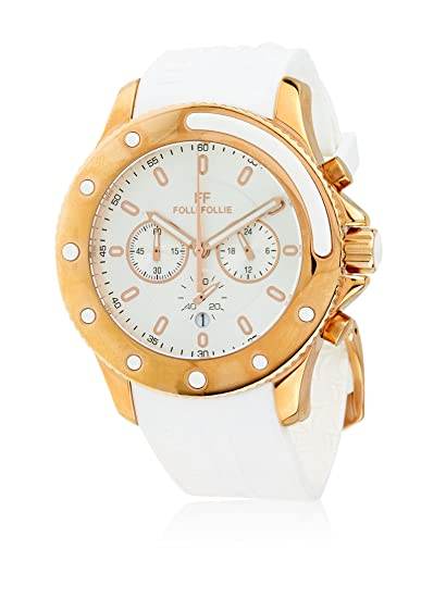 Folli Follie Reloj con movimiento Miyota Woman Wch-Water Champ 38 mm: Amazon.es: Relojes