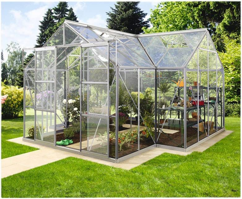 Sirius Vitavia invernadero de vidrio templado de 3 mm 13,00 m² ...