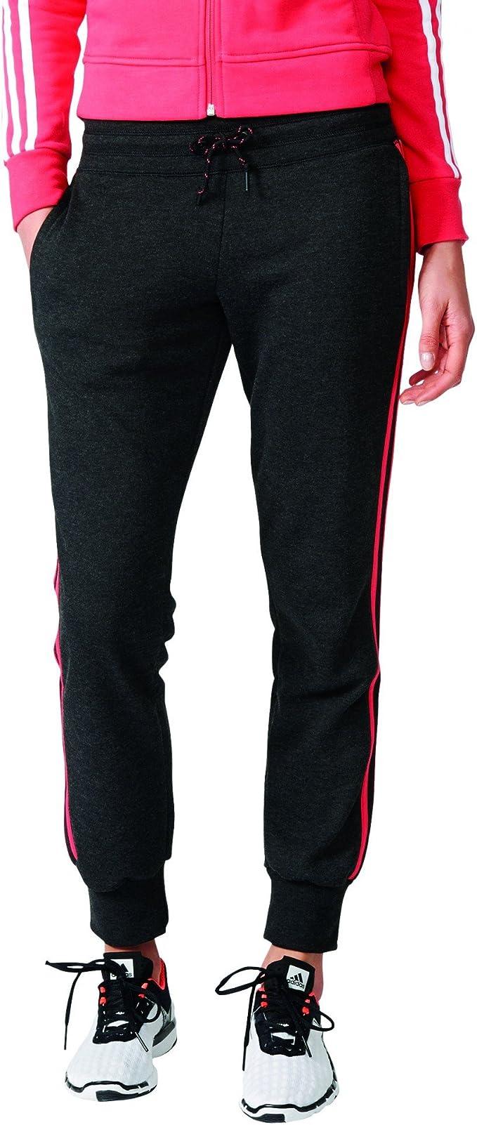 adidas Damen Essentials 3 Stripes Hose: : Bekleidung