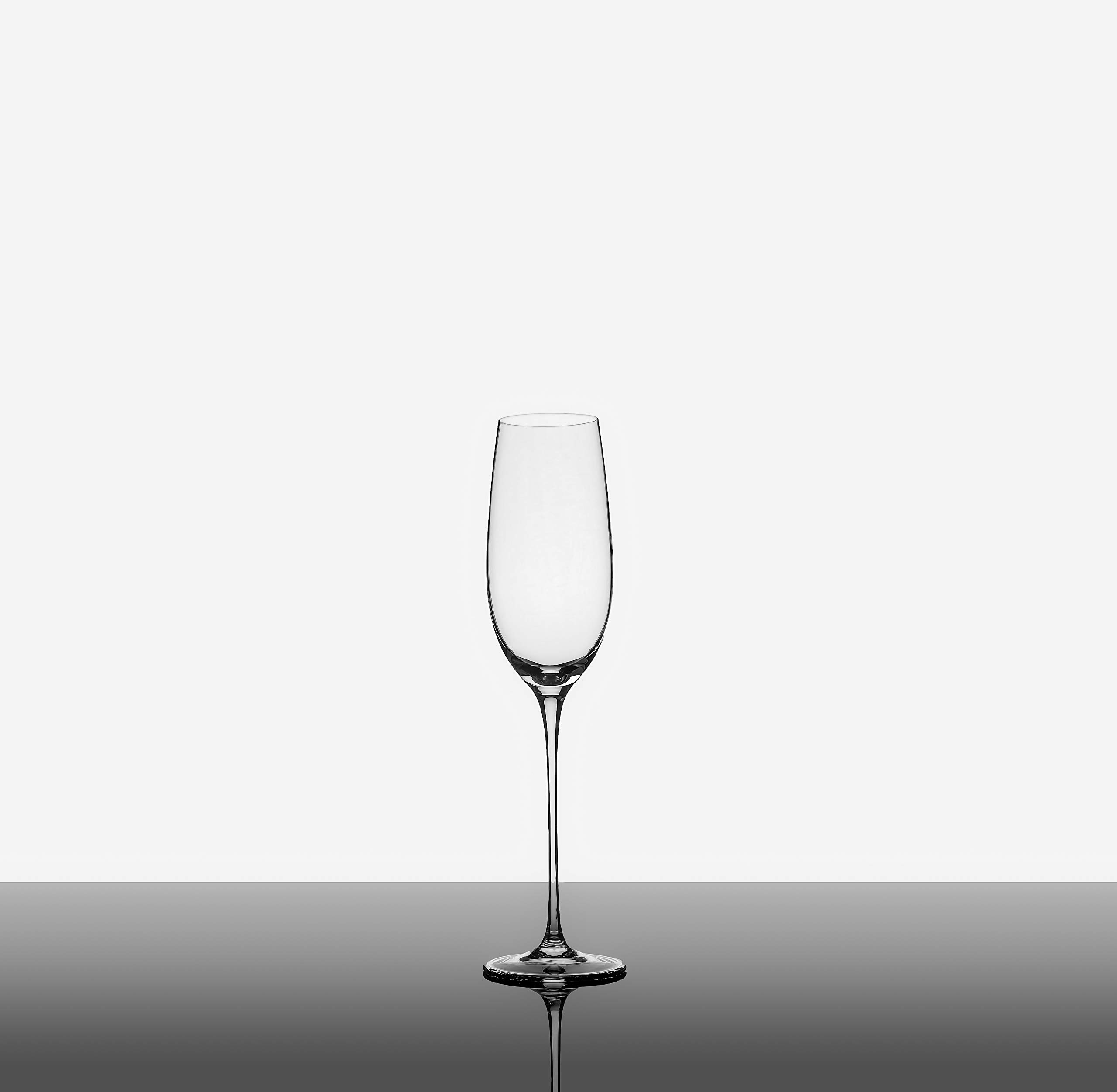 The Excelsior by DUX - Handmade, 100% Lead-Free, Crystal Champagne Flutes, Set of 2 Glasses, Elegant Gift Box by DUX (Image #8)