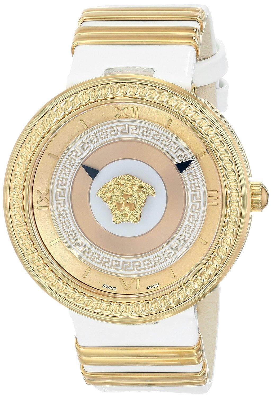 [ヴェルサーチ]Versace 腕時計 VMETAL ICON Analog Display Swiss Quartz White Watch VLC040014 レディース [並行輸入品] B01B5X2REW