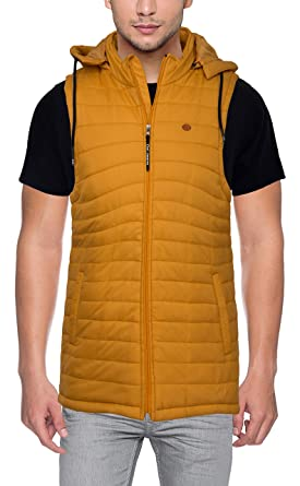 29f3127d9 DXI Men's Jacket (1902- Yellow-L, Yellow, Large): Amazon.in ...