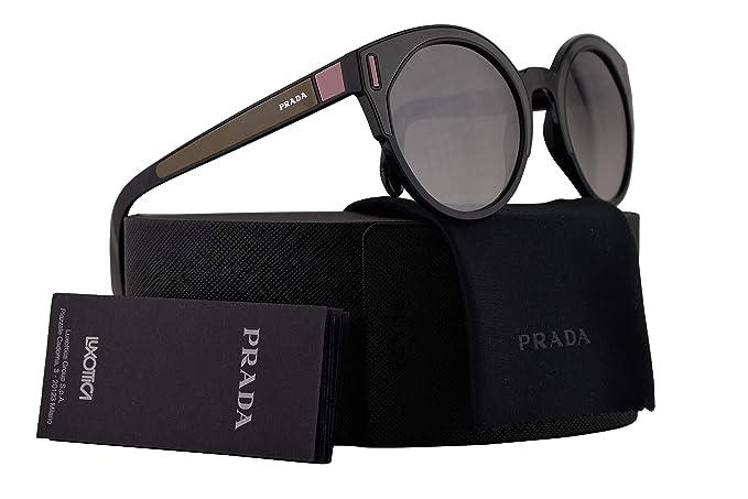 5e114eef1e02 wholesale prada sunglasses collection 2012 4e5ca e2335; low price amazon  prada pr03us sunglasses black brown pink w grey mirror silver 53mm lens  svk5o0