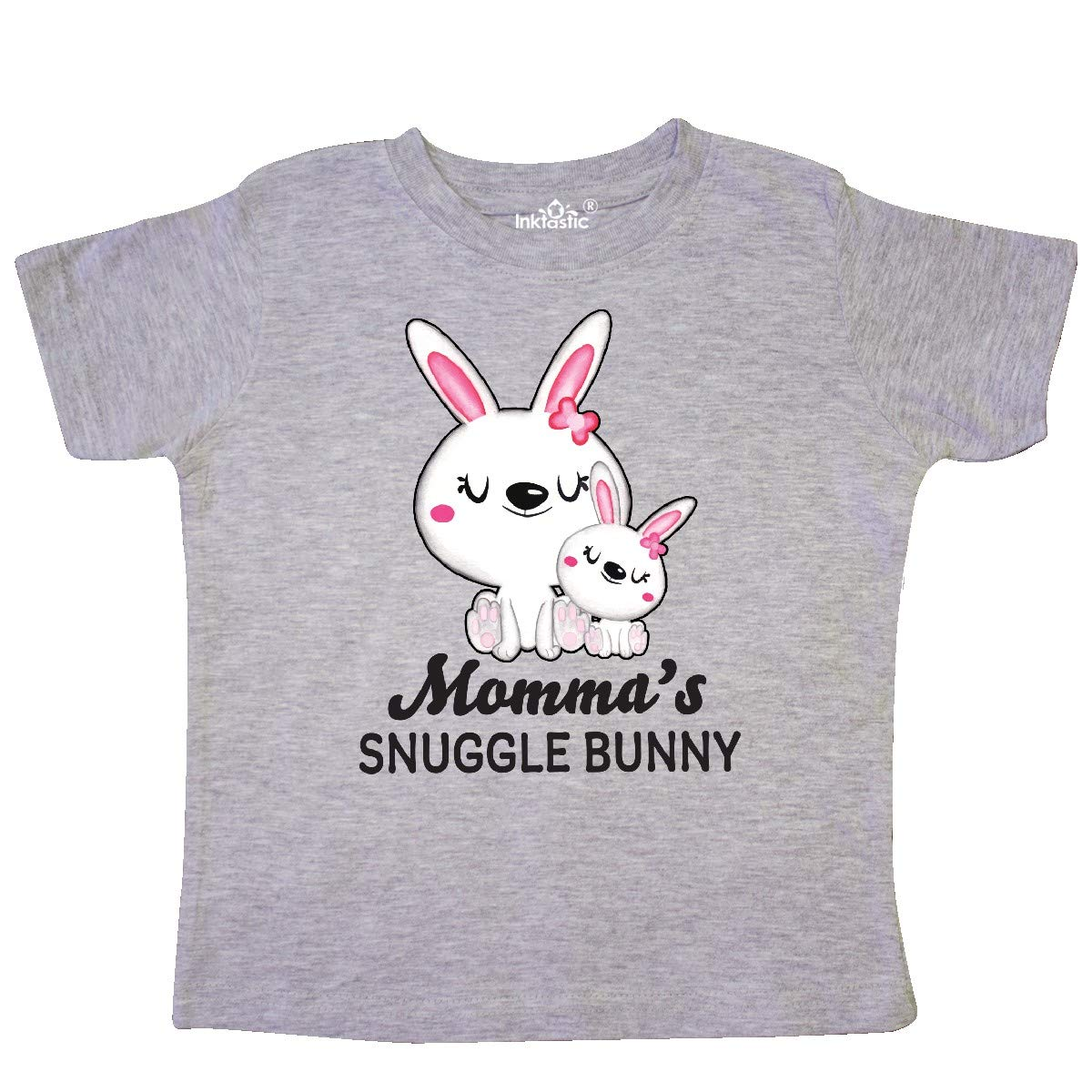 inktastic Mommas Snuggle Bunny Easter Toddler T-Shirt