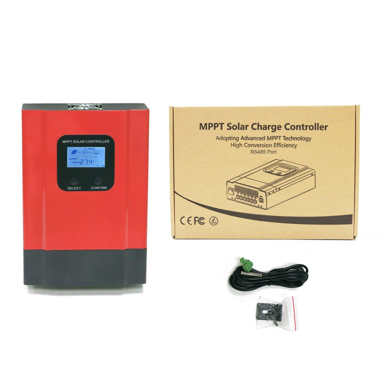 Cordy 40A Solar Regulator Solar Panel MPPT Charge Controller Off Grid Charger 150V PV Input esmarter3