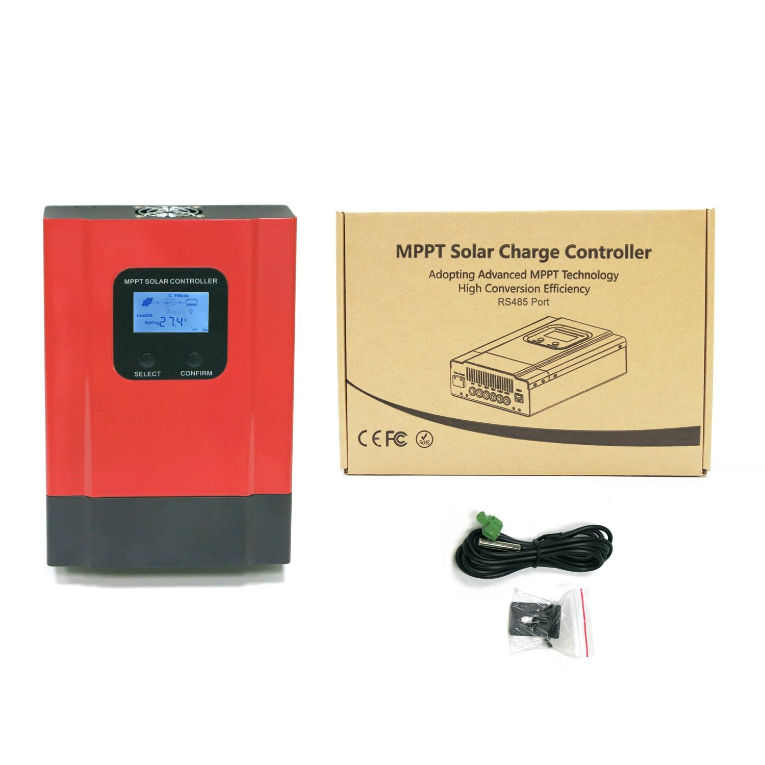 KRXNY 40A MPPT Solar Charge Controller DC 12V/24V/36V/48V Auto Battery Regulator PV 150V Input RS485 Communication by KRXNY (Image #5)