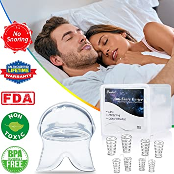 Anti Snoring Devices Snoring Solution, 4 Set Snore Stopper Nose Vents Nasal  Dilators Stop Snoring Solution
