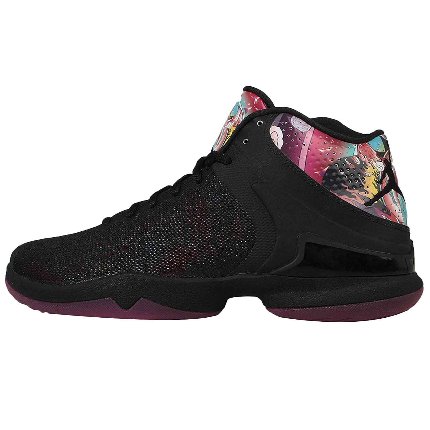 finest selection 01fb9 a78db Nike Air Jordan Super.Fly 4 PO CNY Mens Hi Top Basketball Trainers 840476  Sneakers Shoes (UK 11.5 US 12.5 EU 47, Black Dynamic Pink 060)   Amazon.co.uk  ...