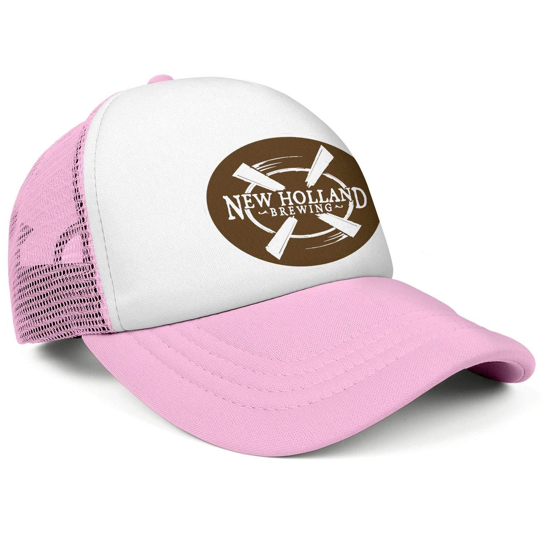 Adjustable Baseball Cap Fit Trucker Hat Cotton Ruggedcaps Men New-Holland-Brewing-Logo