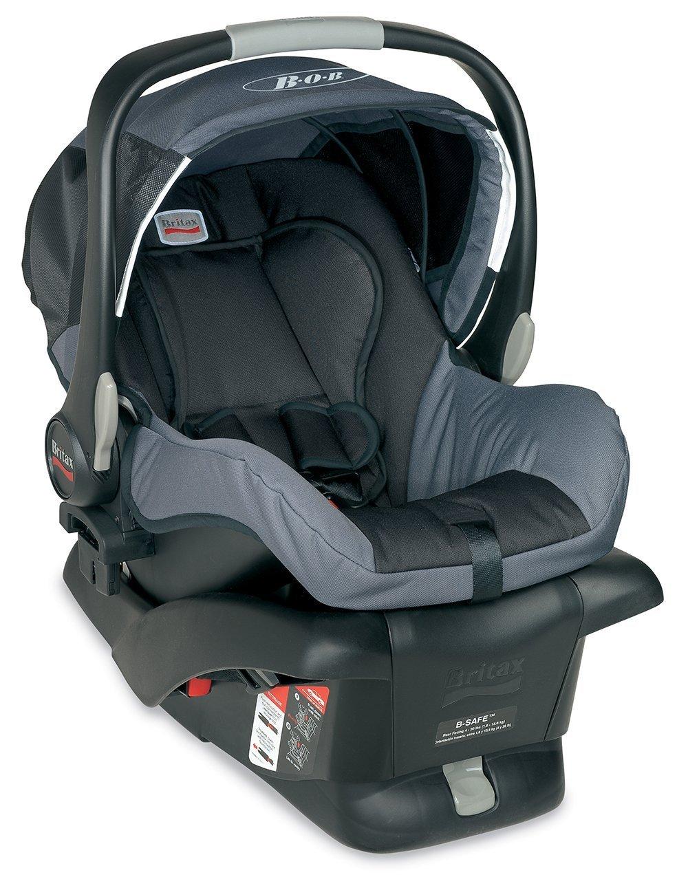 Bob B-Safe Infant Car Seat, Black Britax E9LF34A