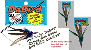 product image for Da Bird Pull Apart SUPER Pole PLUS 2 Super Feather Refills