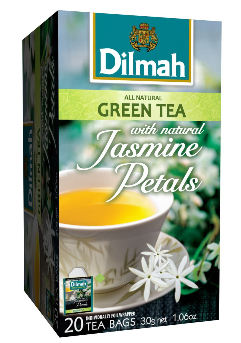 Amazon dilmah green tea with jasmine petals 287 ounce boxes amazon dilmah green tea with jasmine petals 287 ounce boxes pack of 6 grocery gourmet food izmirmasajfo Images