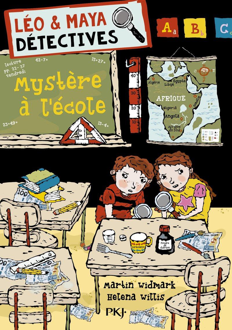 Léo et Maya, détectives - tome 08 : Mystère à l'école (8)