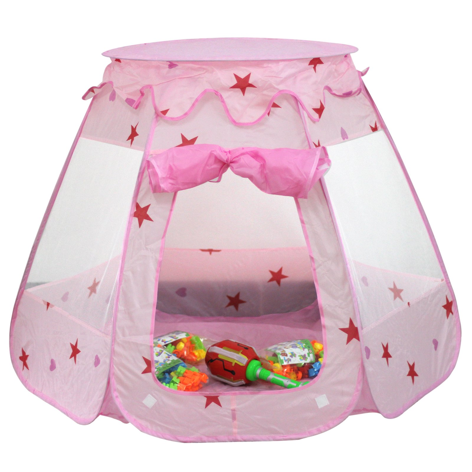 LiNKFOR Kids Play Tent, Indoor Outdoor Children Toys Playhouse for Boys Girls Play Pit Balls Pool Suitable for 1-6 Years Old Children Kids