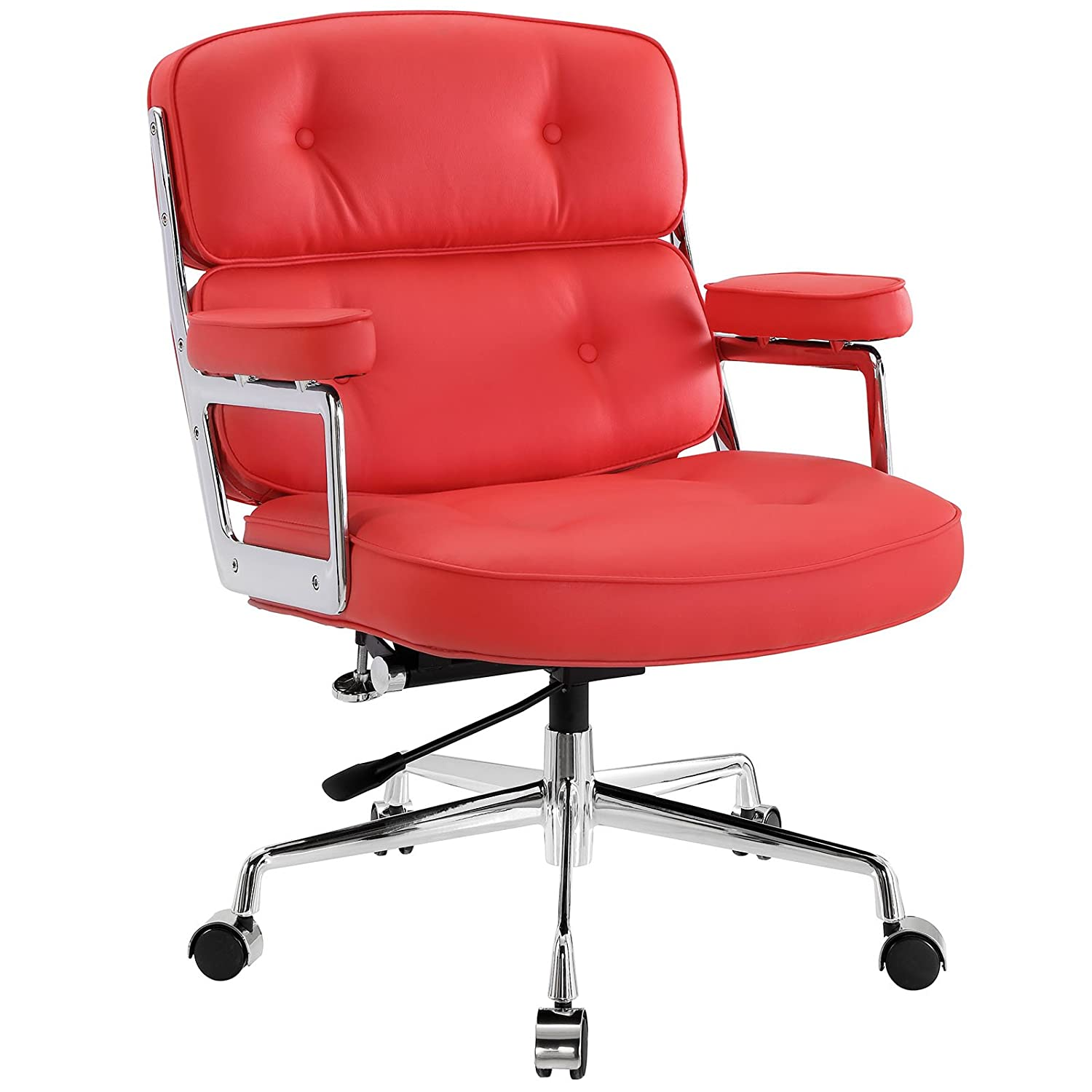 Amazon Modway Remix Deluxe Vinyl Executive fice Chair