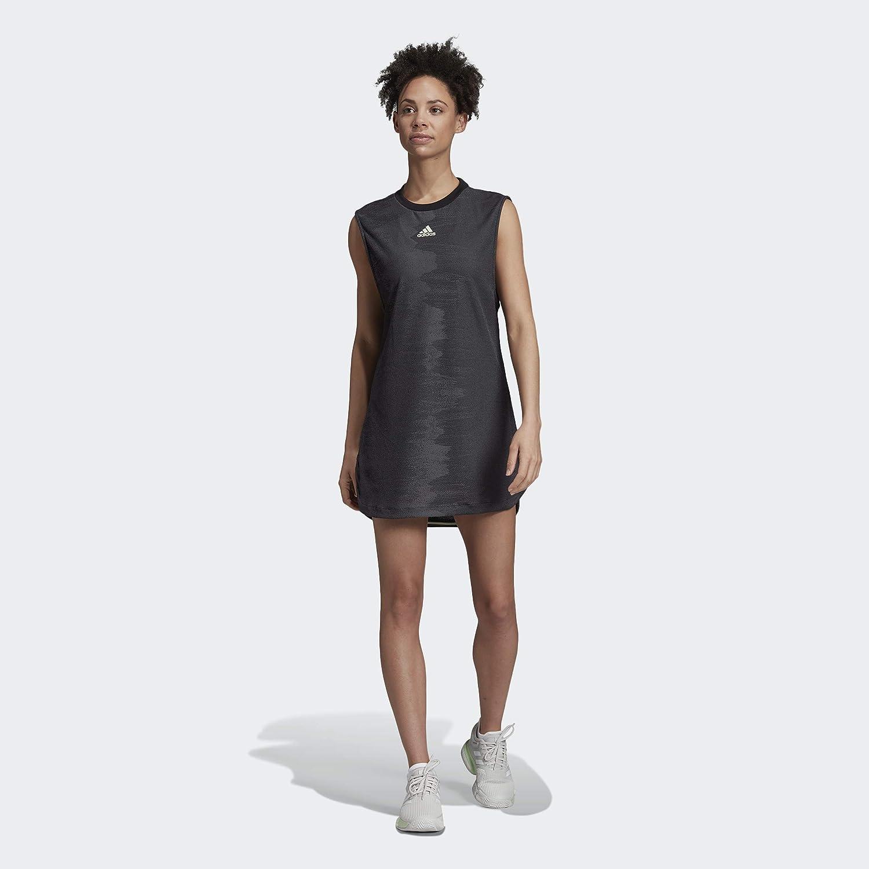 demostración Dirección camioneta  Amazon.com : adidas Women's Ny Tennis Dress : Clothing