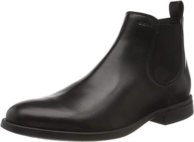 afijo bandeja corte largo  Geox U Domenico A, Botas Chelsea Hombre: Amazon.es: Zapatos y complementos