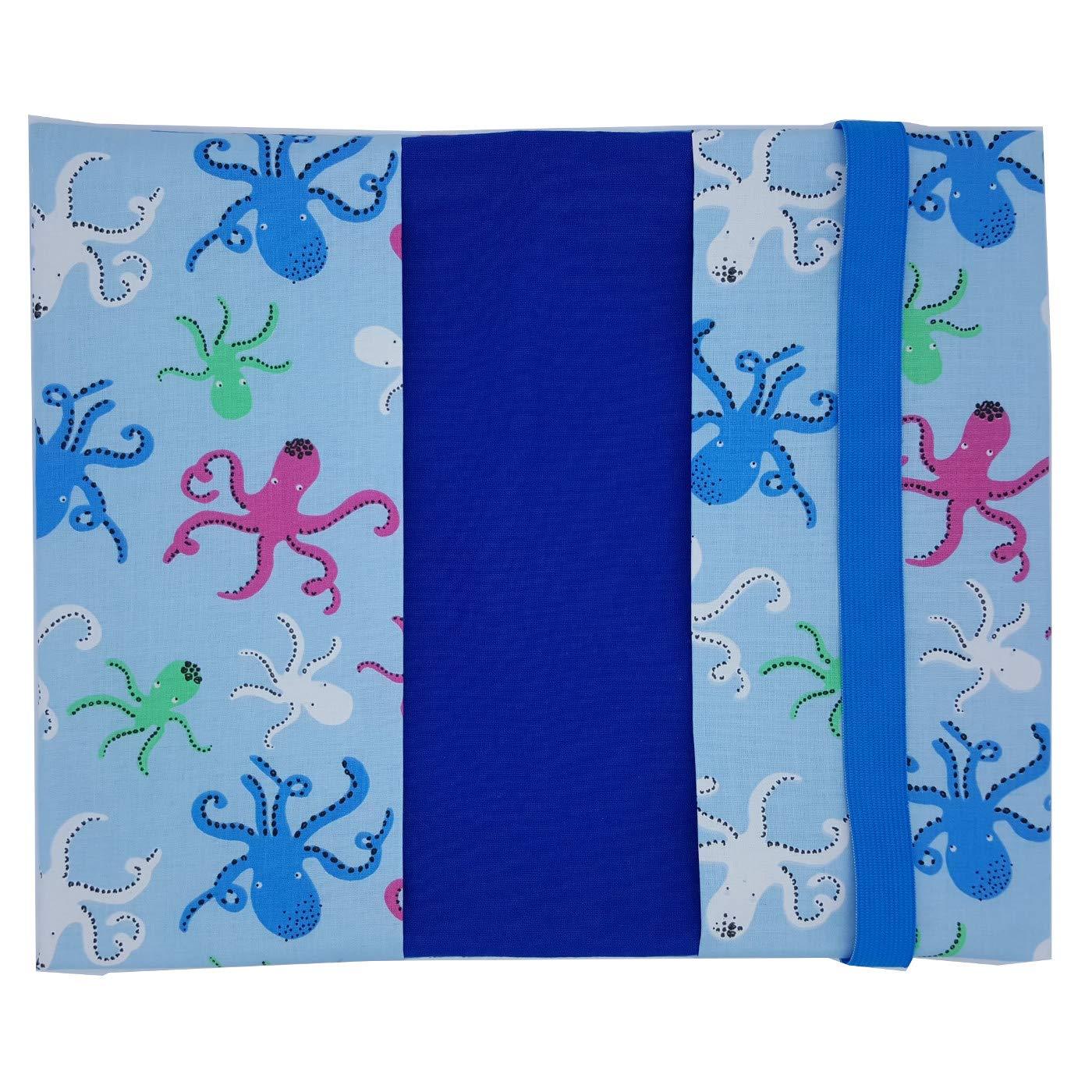 Gro/ße einfache Windeltasche XXL Tier Krake Octopus Wickeltasche optional mit Schnullerschlaufe