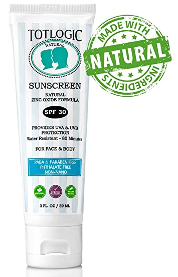 TotLogic Natural Sunscreen SPF 30
