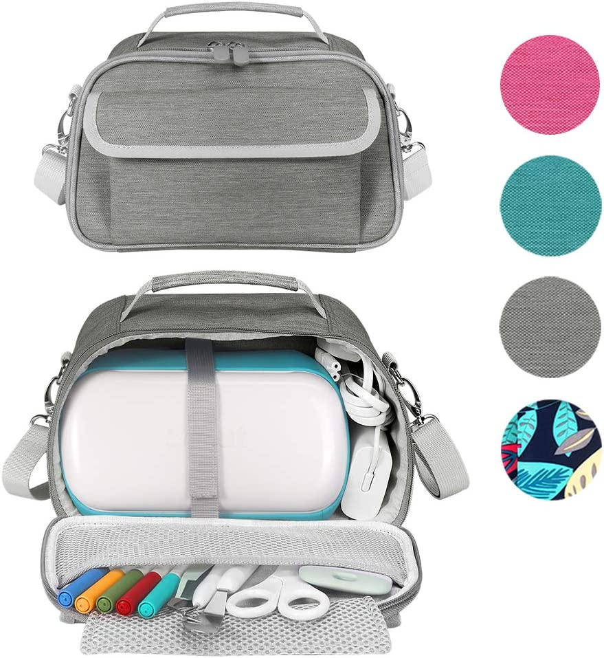 Waterproof Portable Tote Bag with Cricut Joy Accessories Storage for Craft Tool Set Green Eyglo Travel Carrying Case for Cricut Joy Machine