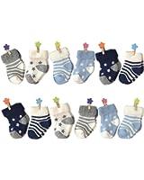 6-18 Months Socks, Colorfox Baby Boys Girls Toddler Novelty Fun Soft Cotton Crew Socks 6/8/12 Pairs