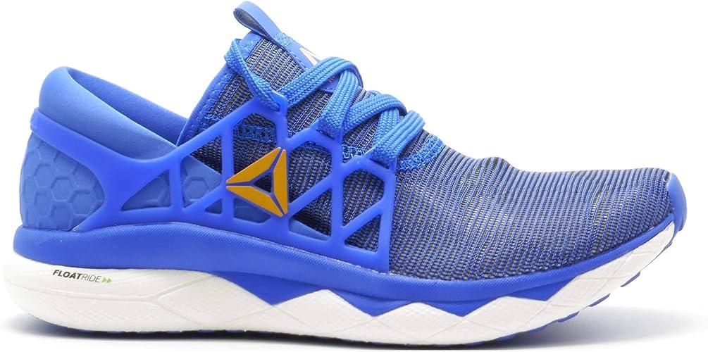 Blue 1 Mens Reebok Floatride Run Flexweave Mens Running Shoes