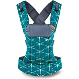 Gemini Performance Baby Carrier By Beco - Multi-Position Soft Structured Sling w/ Adjustable Straps & Comfort Padding for Infant/Toddler Hip Support - Dragonfly with Pocket