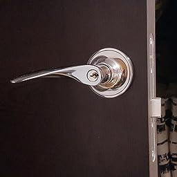 N/íquel satinado Manija reversible para puerta Excel Architectural DP6971 Privacidad
