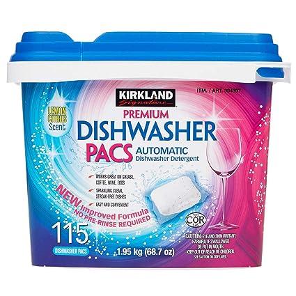 Kirkland Signature - Dispensador de lavavajillas fácil de ...
