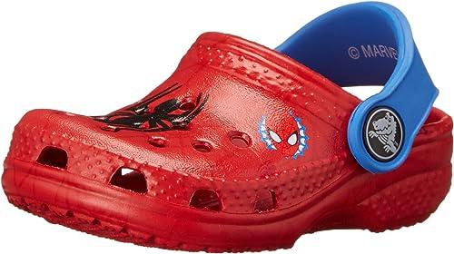 Crocs Enfant gar/çon Spider-Man Rouge et Bleu du 24 au 31 Sabots