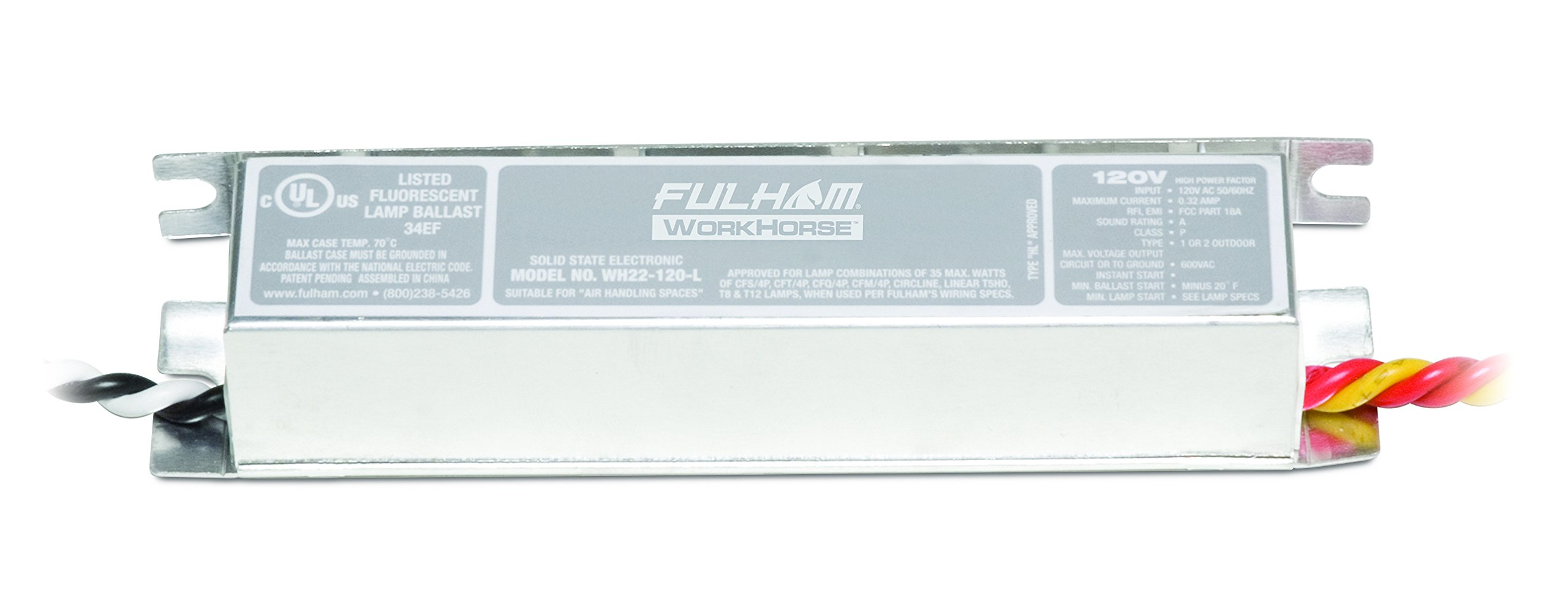 Fulham WH22-120-L Workhorse Adaptable Ballast