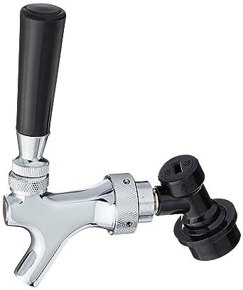 Amazon.com: Beer Faucet, Chrome, Cornelius Ball Lock Disconnect ...