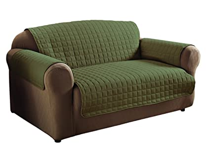 Innovative Textile Microfiber Sofa Furniture Protector, Sage