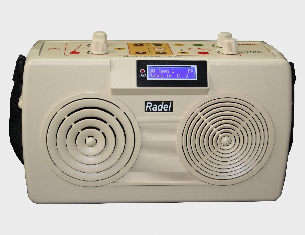 The Radel Milan+ is the first of its kind unique 2-in-1 Digital Tabla-Tanpura by RADEL