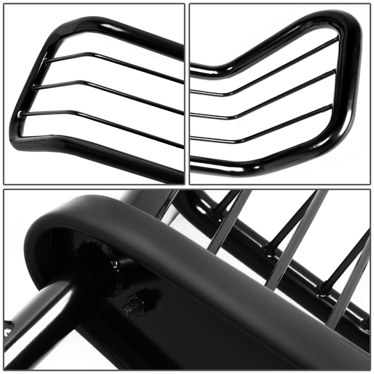 For Ford Expedition F150 Black F250 4WD Front Bumper Protector Brush Grille Guard