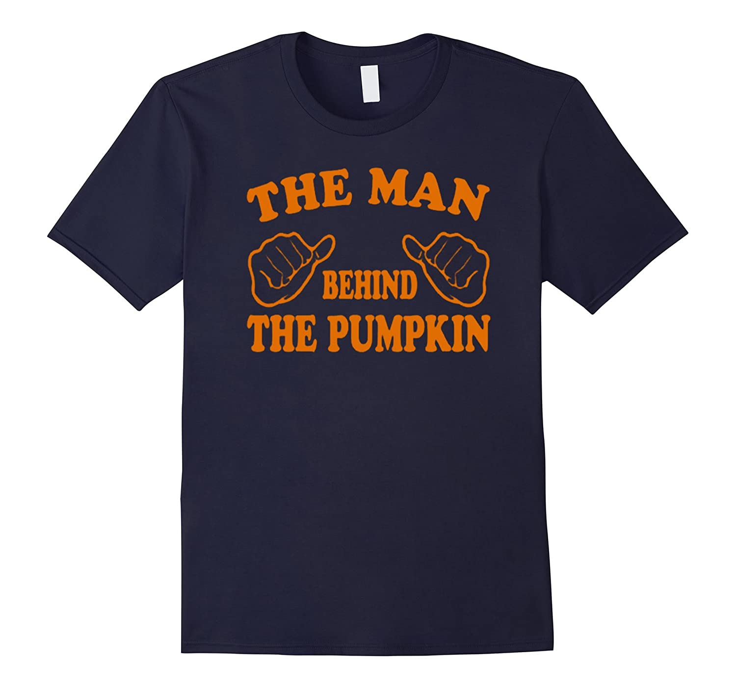 Halloween Custom - The Man Behind The Pumpkin Tshirt-TD