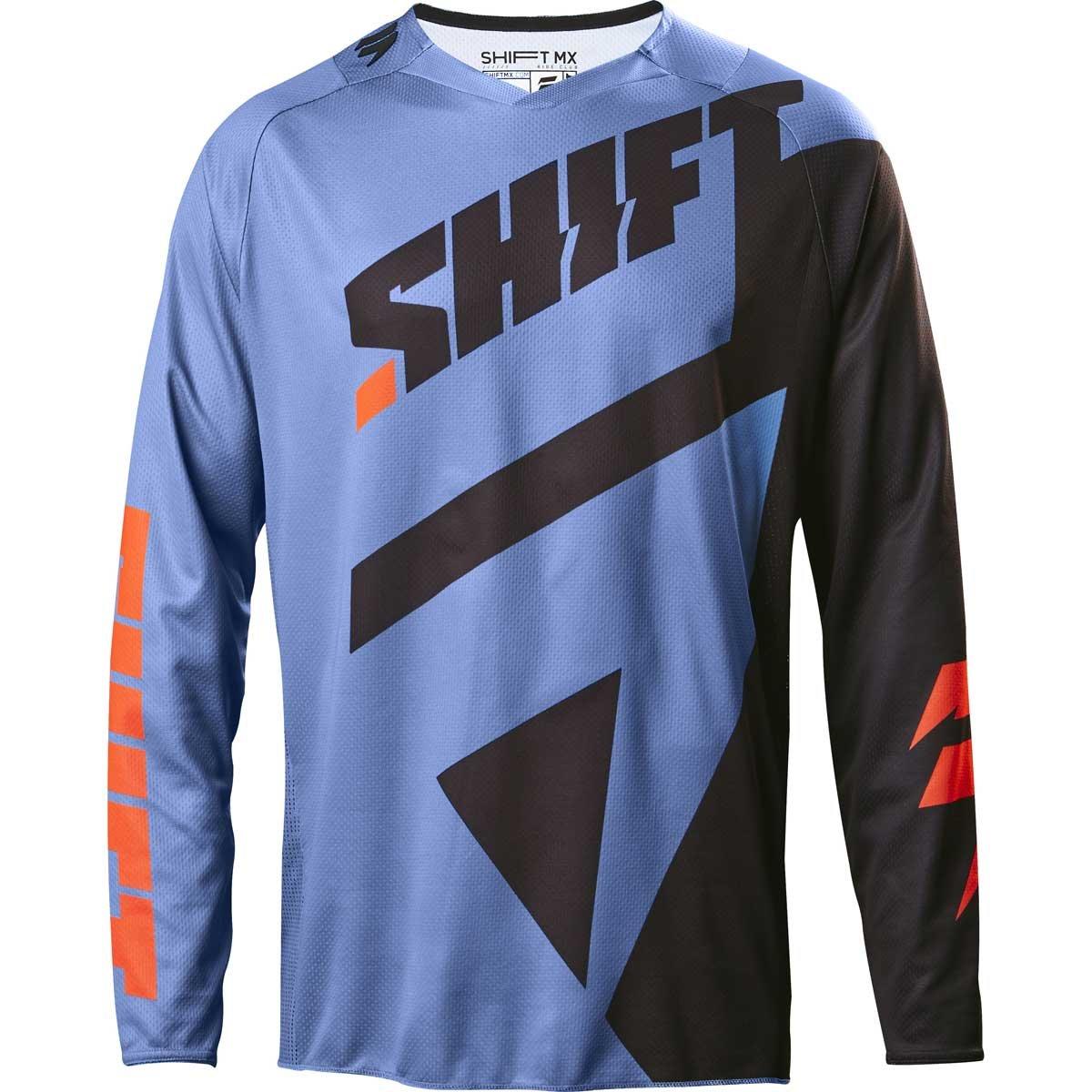 Shift 2017 Black Label Mainline Jersey-Blue-L