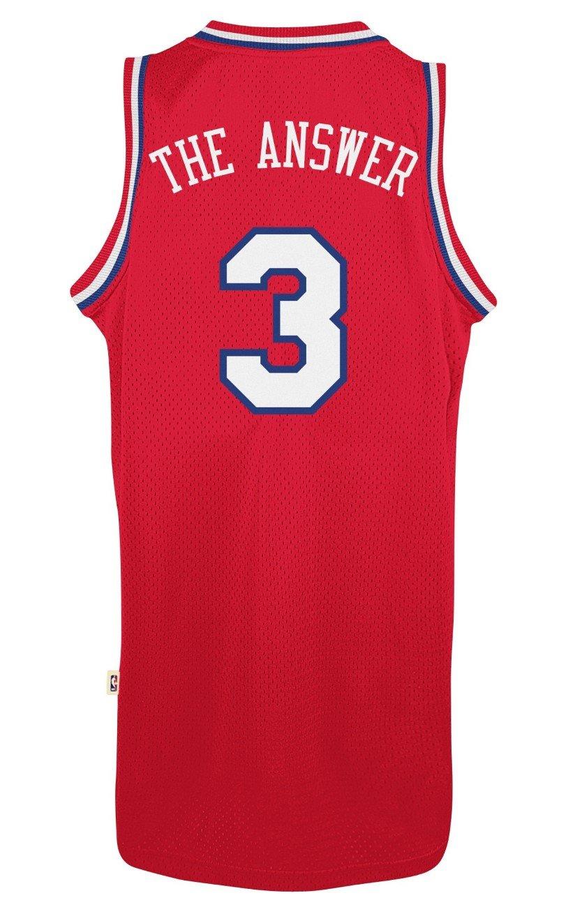 b37013a4eee Amazon.com   Allen Iverson Philadelphia 76ers Adidas Throwback
